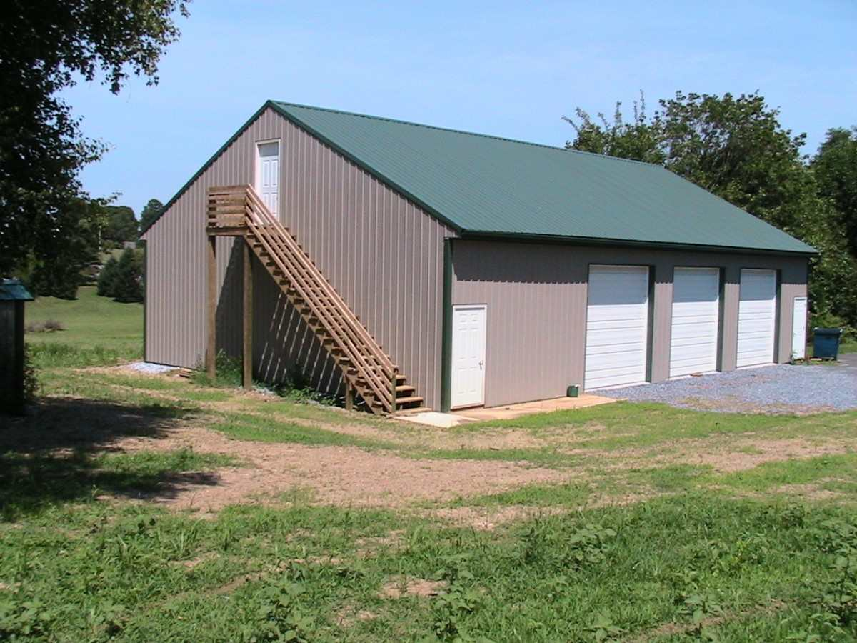 barns barn garages amish contractor pole and